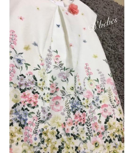 Vestido flores, Paz Rodriguez