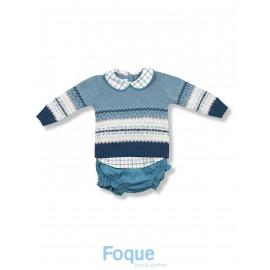 conjunto lana dos piezas foque