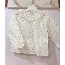 camisas estampado flores paloma de la o