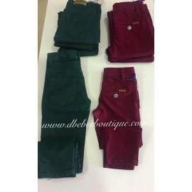 Pantalón cinco bolsillos, Verde bosque,  Amaro Jeans