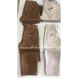 Pantalón cinco bolsillos, crudo, Amaro Jeans