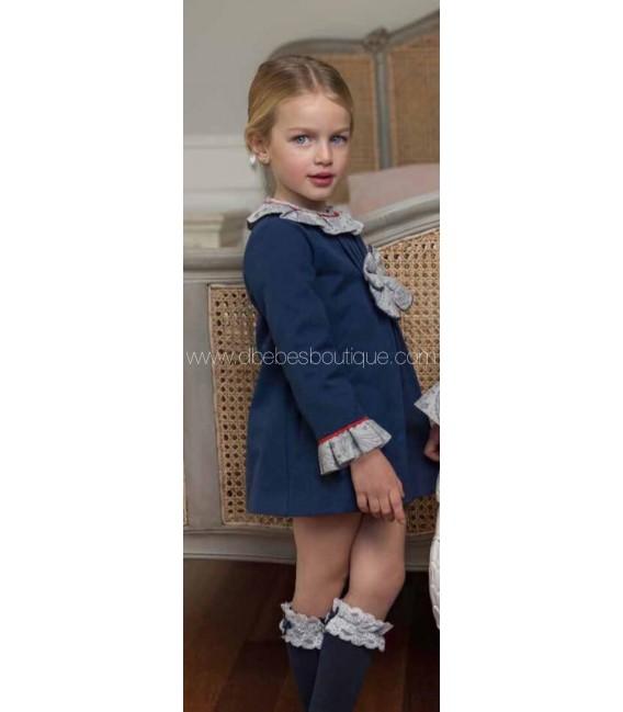 Vestido detalle estampado dolce petit