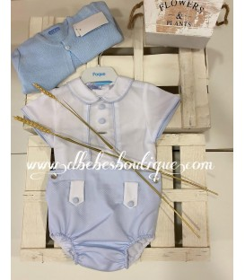 conjunto camisa y braguita foque