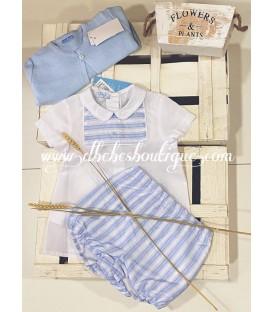 conjunto camisa y bombacho foque