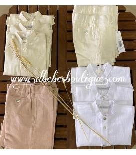 pantalon chino lino pilar batanero