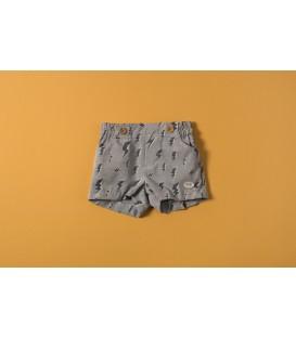 pantalon corto rayos