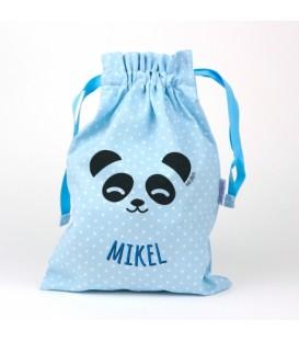 Saquito Panda Personalizado