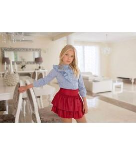 conjunto falda y camisa dolce aela