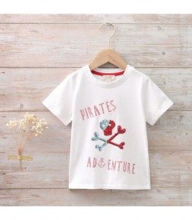 Camiseta pirata A/J bermuda pirata dadati