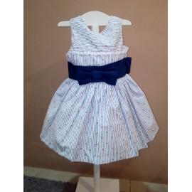 Vestido marinero Blanca Valiente
