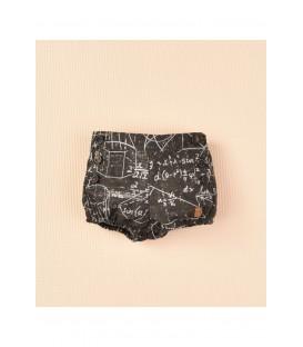 Pantalon corto estampado