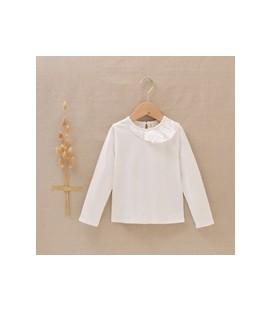Camiseta algodon cuello asimetrico dadati