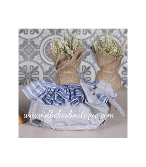 Conjunto blusa y braguita volante Paloma de la  O
