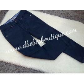 Pantalón cinco bolsillos, Gris marengo, Amaro Jeans