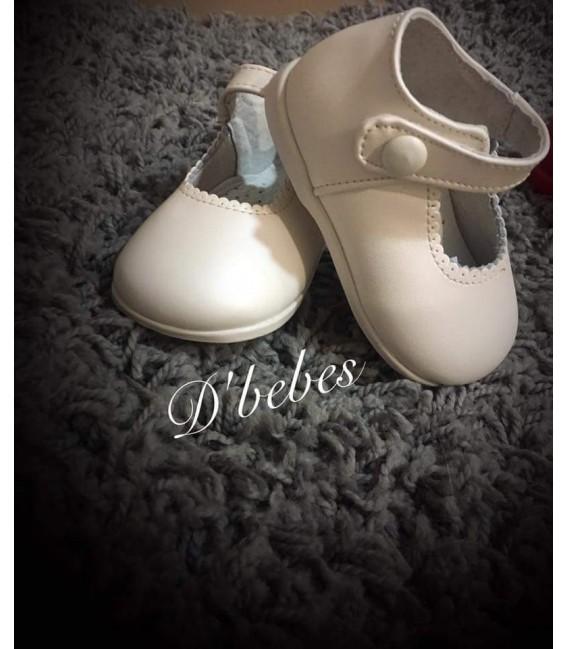 Zapato broche Beige, Bubble Bobble