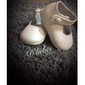 Zapato broche Beige, Bubble Bobble