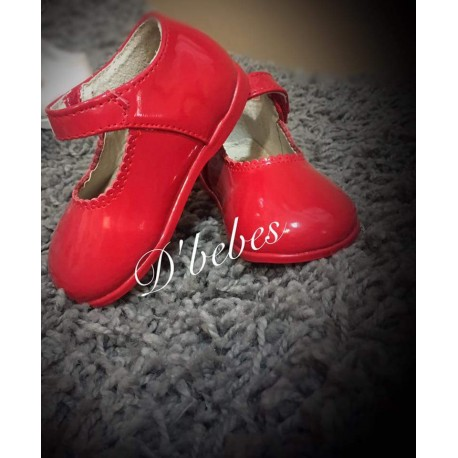 Zapato broche Rojo, Bubble Bobble