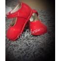 Zapato broche Rojo, Bubble Bobble