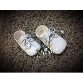 Zapato piel Celeste, Noa Baby